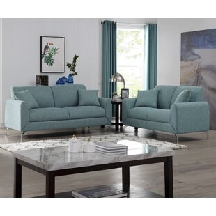 Abrom 2 Piece Living Room Set by Orren Ellis