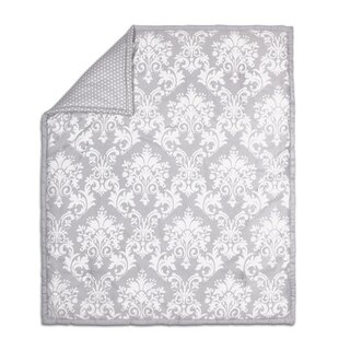 Great choice Damask Cotton Quilt ByThe Peanut Shell