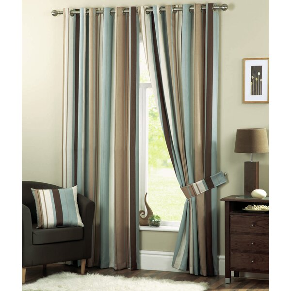 Andover Mills Hampshire Eyelet Room Darkening Curtains