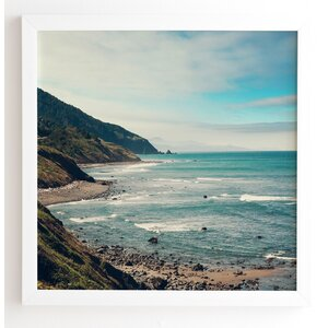 California Pacific Coast Highway Framed Photograph