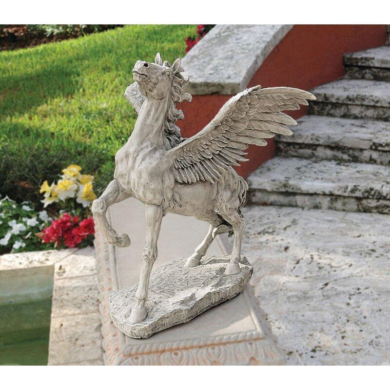 Design Toscano Grand Pegasus Winged Horse Statue Wayfair