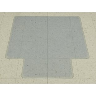 Plastic Hard Floor Beveled Chair Mat by Ottomanson