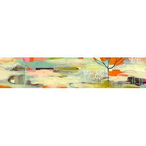 'Breathe You In' by Flora Bowley Painting Print on Wrapped Canvas by GreenBox Art