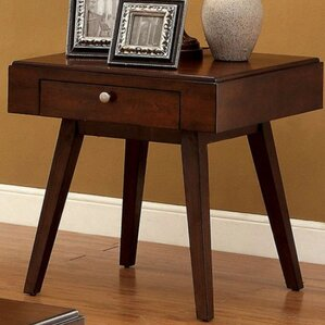 Gordon Midcentury Modern End Table by Langley Street