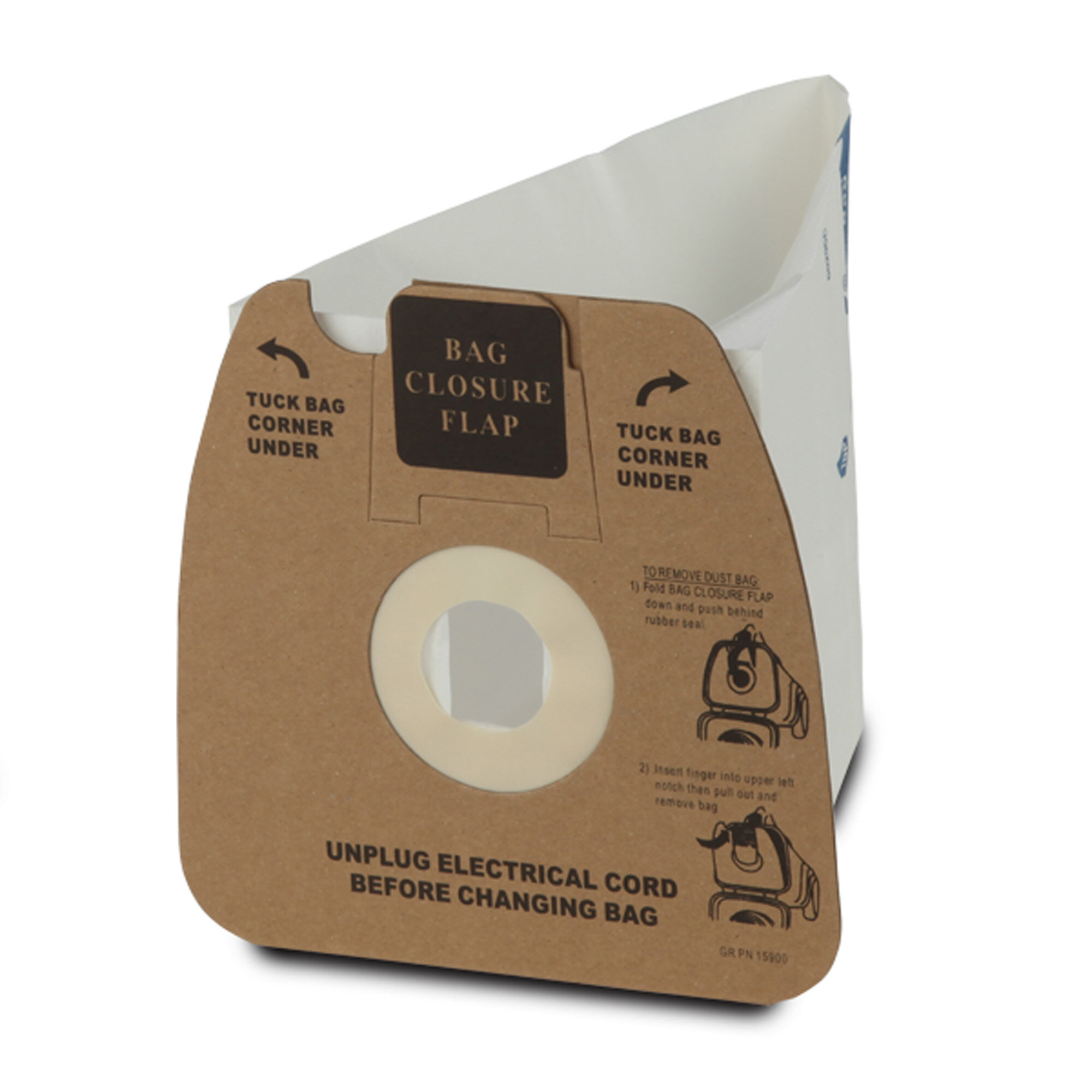 Style MM Vacuum Bag Replacement for Eureka Mighty Mite 27 Eureka Part 60295C