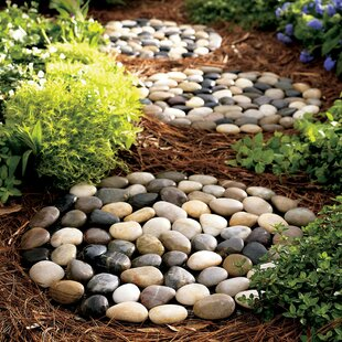 Stepping Stone For Garden Stepping stones youll love wayfair river stepping stone set of 3 workwithnaturefo