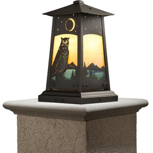Devaughn 1-Light Pier Mount Light By August Grove Outdoor Lighting