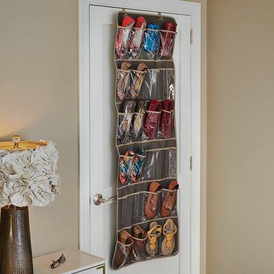 12 Pair Hanging Shoe Organizer