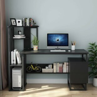 Elledge Computer Desk with Bookcase
