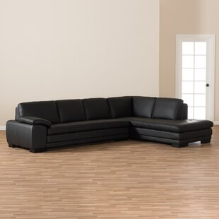 Mizuno Leather Sectional