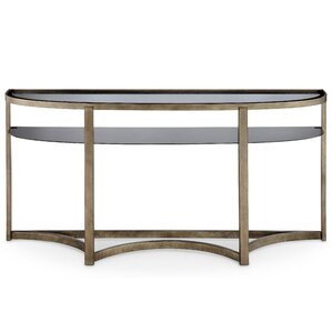 Riverdale Contemporary Demilune Console Table by Darby Home Co