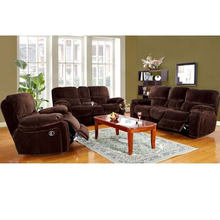 Carraton Reclining Configurable Living Room Set by Three Posts