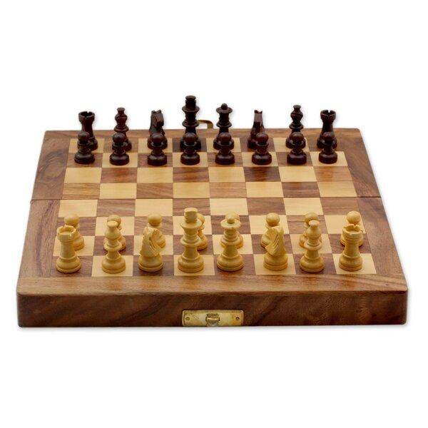 Decorative Chess Sets novica fair trade decorative india wood chess set game & reviews