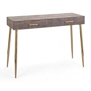 Wilmot Wood and Metal Console Table By Mercer41