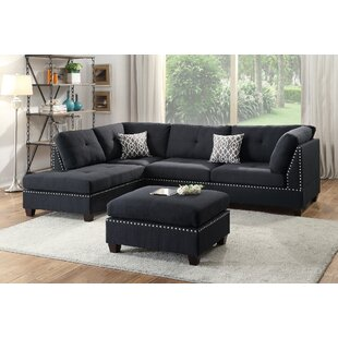 Attrayant Raelyn Reversible Sectional With Ottoman