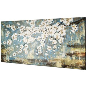 'Blue Blossom' Painting on Wrapped Canvas by World Menagerie