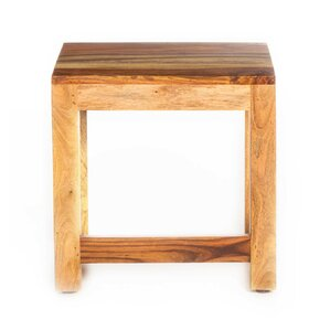Gaya Rosewood Medium End Table by Artemano