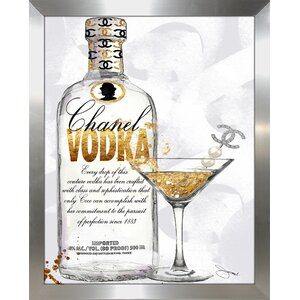 'Couture Cocktail' Graphic Art Print by Picture Perfect International