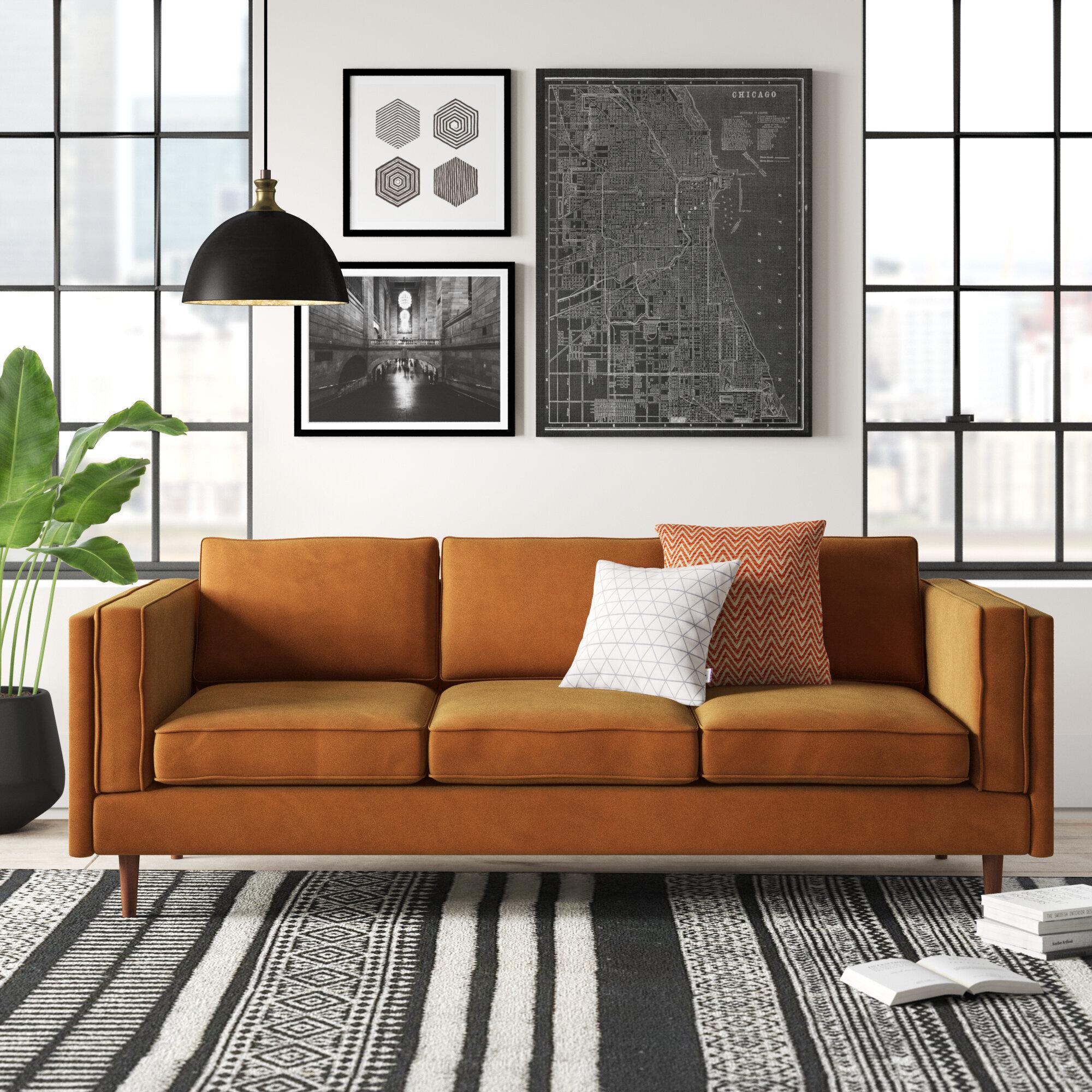 Adelaide 84 Square Arm Sofa Reviews