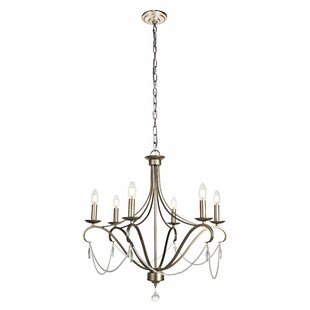 Affordable Price Calderdale 6-Light Chandelier By House of Hampton