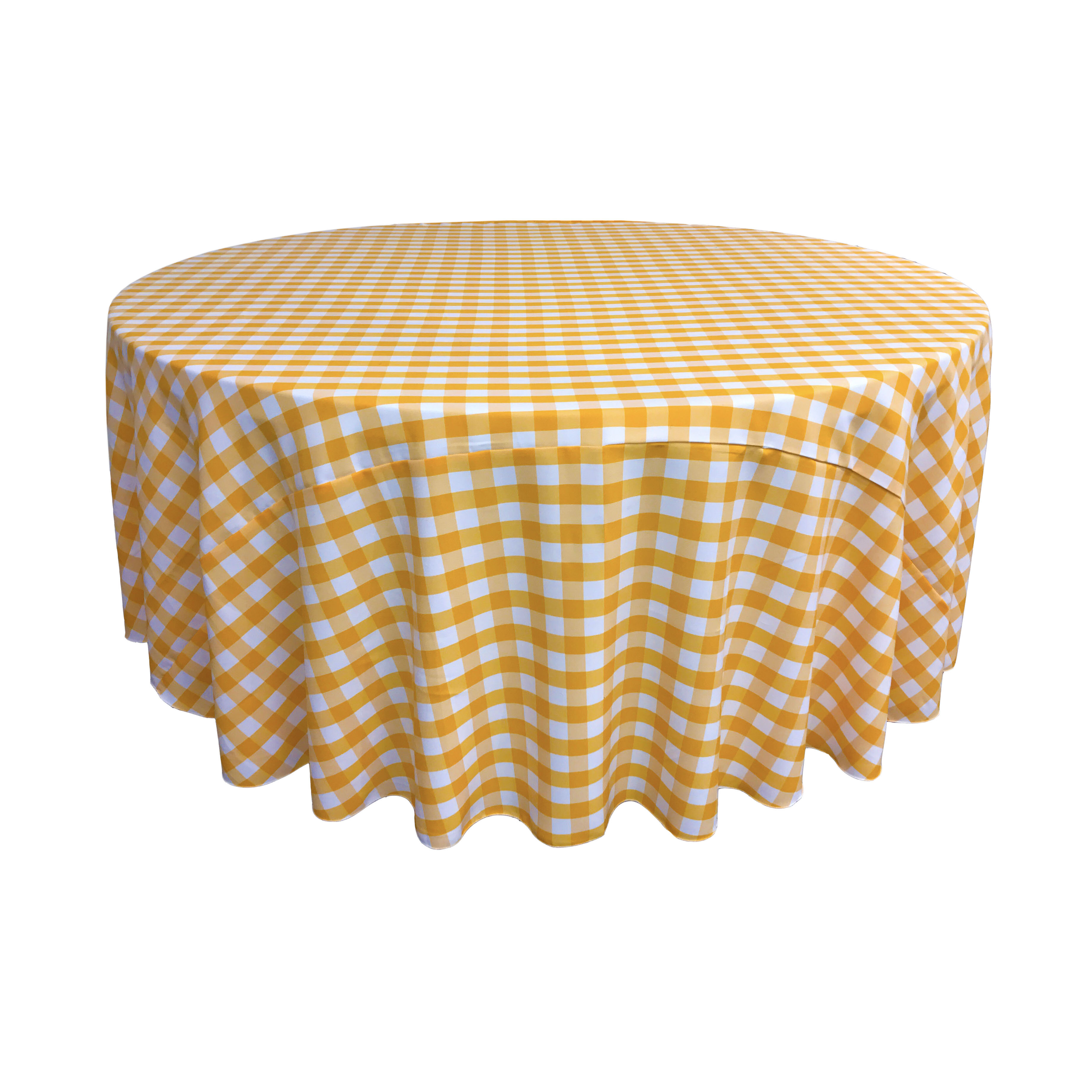 Round Yellow Tablecloths Up To 65 Off Until 11 20 Wayfair Wayfair