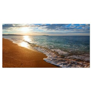 Gili Island Tropical Beach Large Seashore Photographic Print on Wrapped Canvas by Design Art