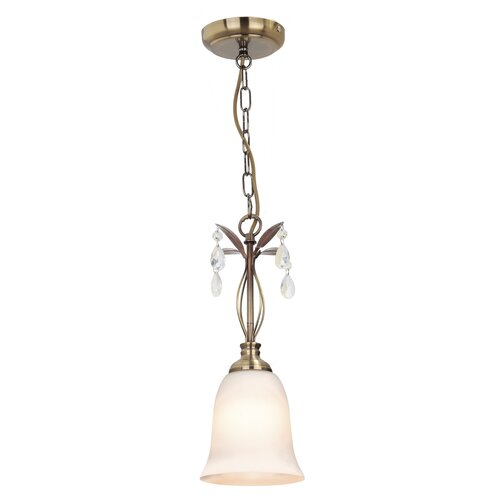Trawalla 1-Light Bell Pendant Marlow Home Co.