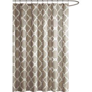 brown waffle shower curtain. brown waffle shower curtain