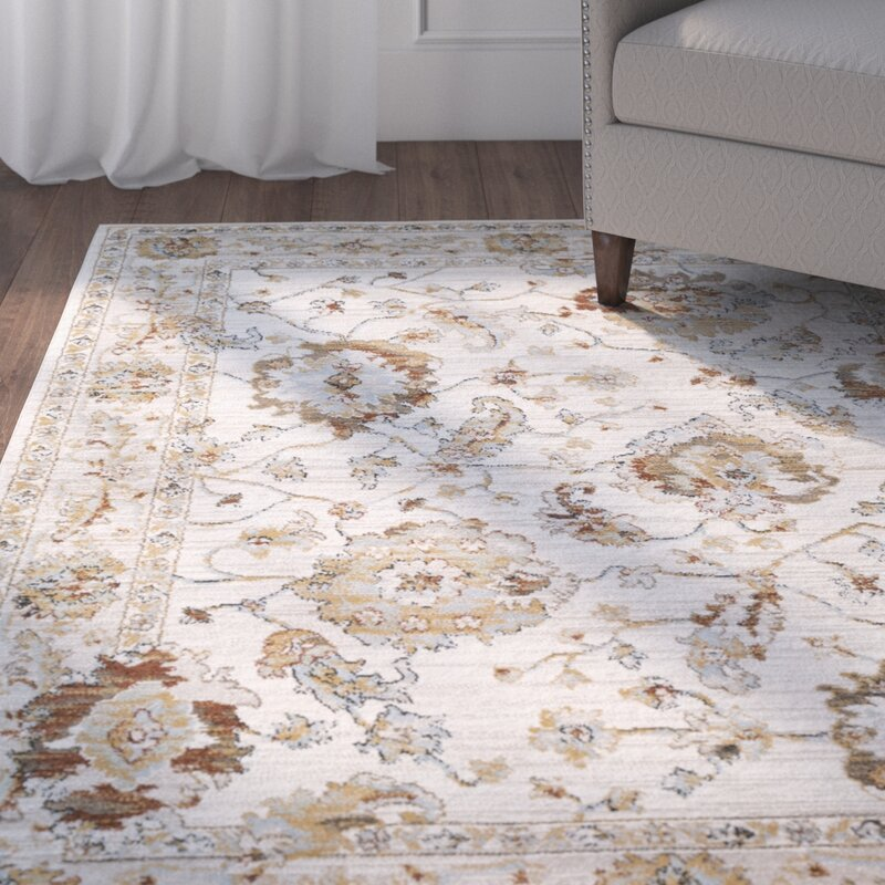 Lenora Light Gray Area Rug