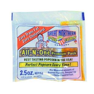 2.5 Oz. Popcorn Portion (Set of 12) by Great Northern Popcorn
