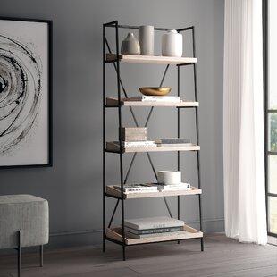 Sherry Mid Century Etagere Bookcase Greyleigh