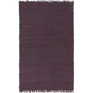 Pineda Hand Woven Purple Area Rug