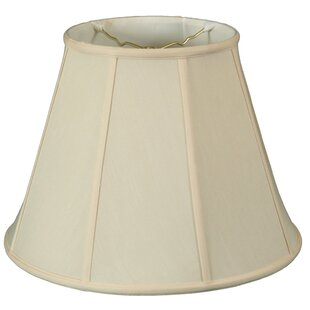 Best 18 Silk/Shantung Empire Lamp Shade By Darby Home Co