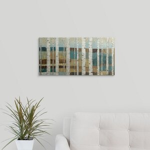 'Shimmering Valley' Painting Print on Wrapped Canvas by Great Big Canvas