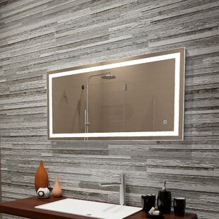 Purchase Bolyard Dimmable LED Lighted Bathroom/Vanity Mirror By Orren Ellis
