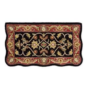 Savings McLean Hand-Tufted Wool Black Area Rug ByPlow & Hearth