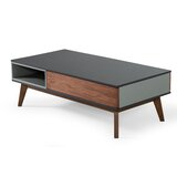 Cahillane Modern Multi Colored Coffee Table by Wrought Studio™
