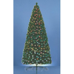 2.5ft Artificial Christmas Tree with 75 Fibre Optic Tips