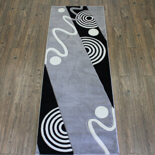 Compare Geo Gray/Black Area Rug By Rug Factory Plus