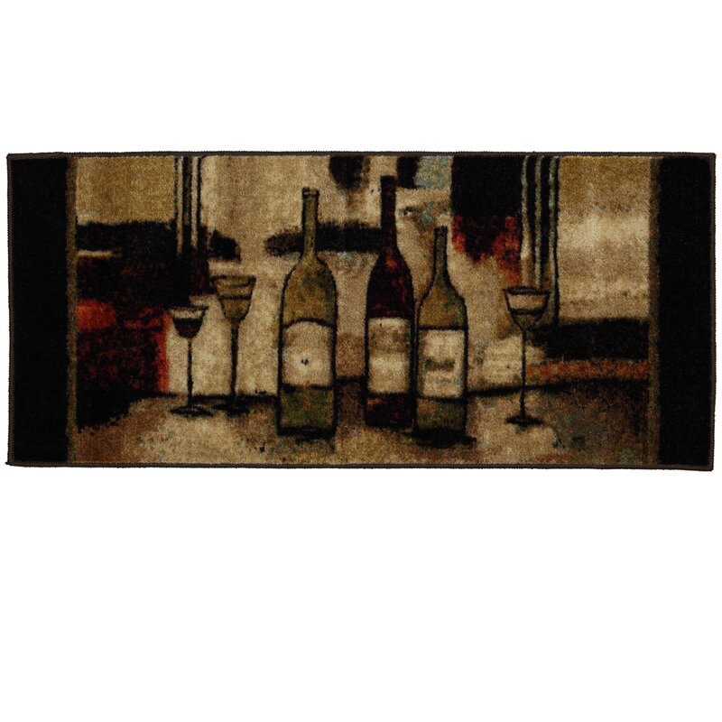 Ayers Village Wine And Gles Area Rug