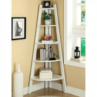 Pabon High Corner Unit Bookcase