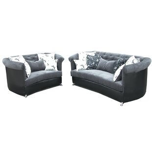 Loki 2 Piece Living Room Set by Red Barrel Studio®