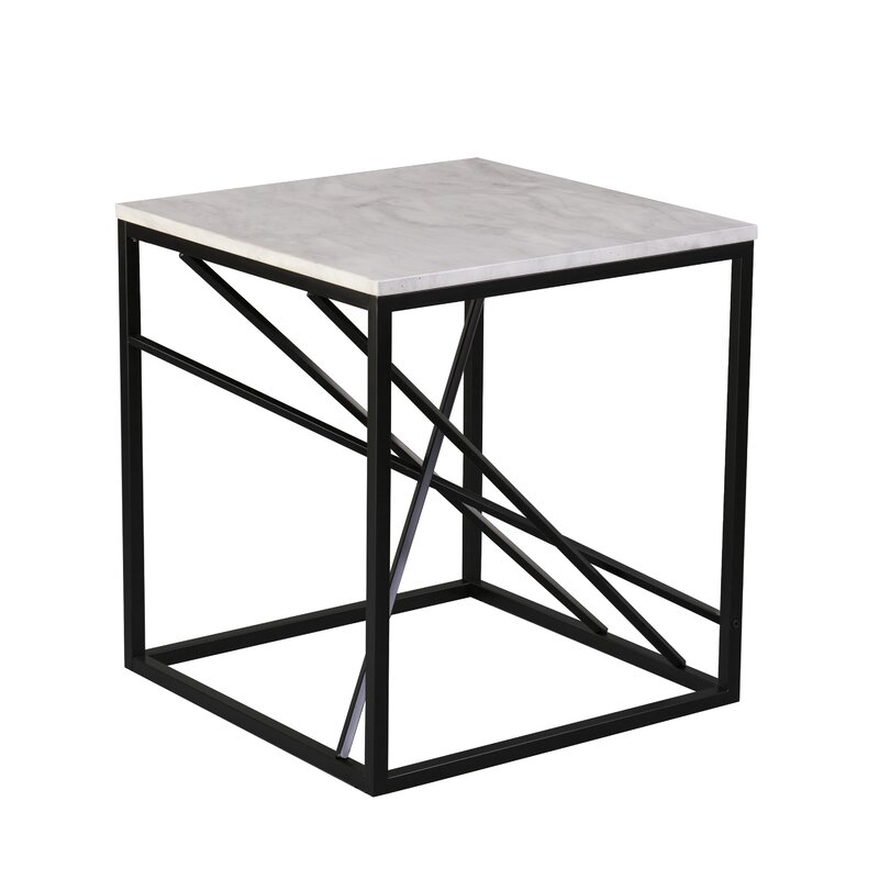 Blue Elephant Onsted Side Table Reviews Wayfair Co Uk
