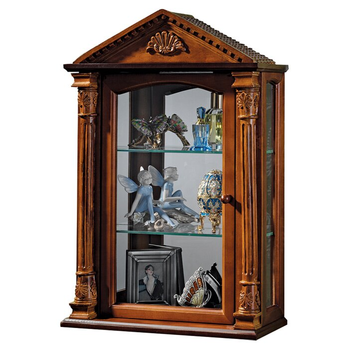 Design Toscano Essex Hall Wall-Mounted Curio Cabinet & Reviews ...