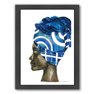 African Pride 2 Framed Painting Print by East Urban Home