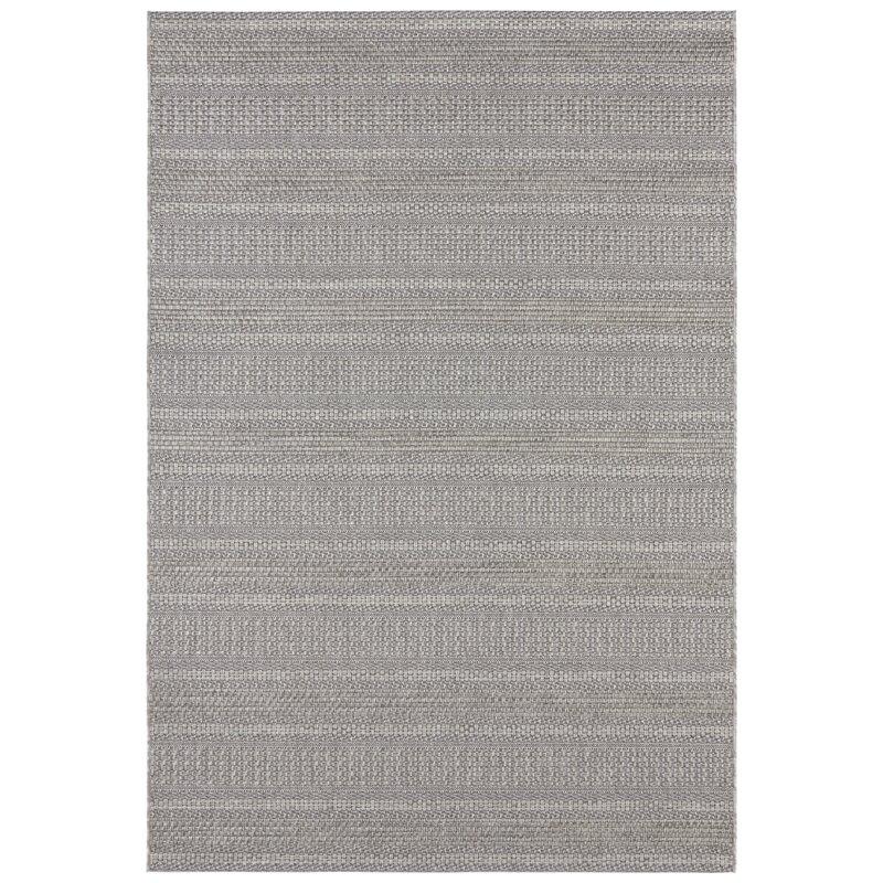 Arras Flatweave Grey Indoor Outdoor Rug