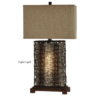 Rattan table lamp wayfair williamsfield 32 table lamp aloadofball Choice Image