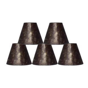 Top Reviews 6 Mica Bell Lamp Shade (Set of 5) By Fleur De Lis Living