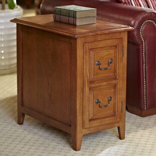 Best Choices Apple Valley End Table With Storage By Charlton Home