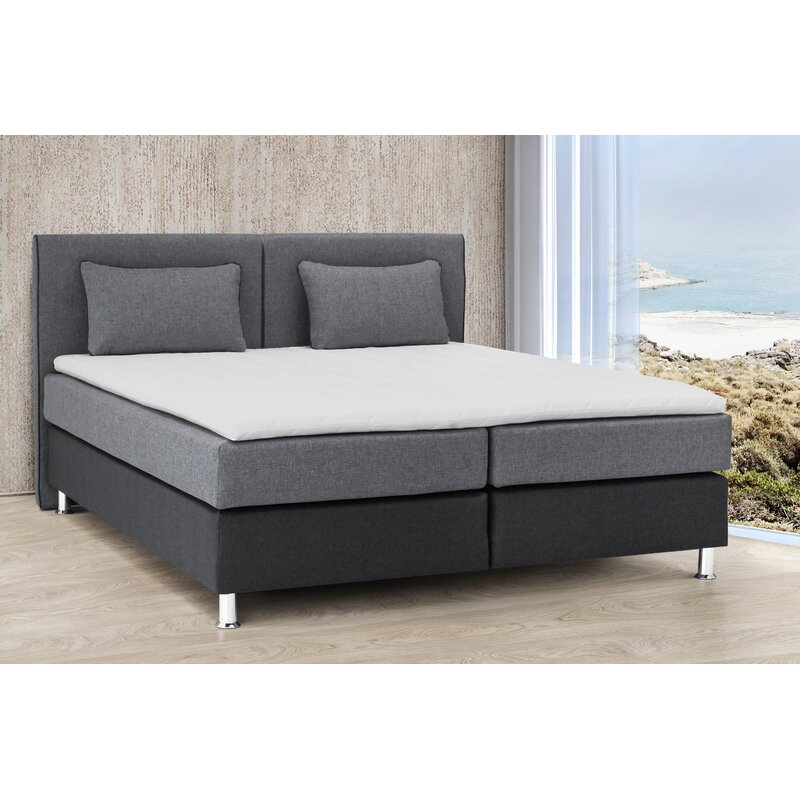 collection ab boxspringbett derringullen mit topper 180 x 200 cm. Black Bedroom Furniture Sets. Home Design Ideas